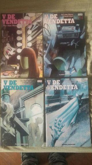v de vendetta 4 comics