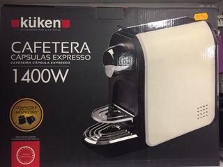 Cafetera capsulas 20bar 1400w