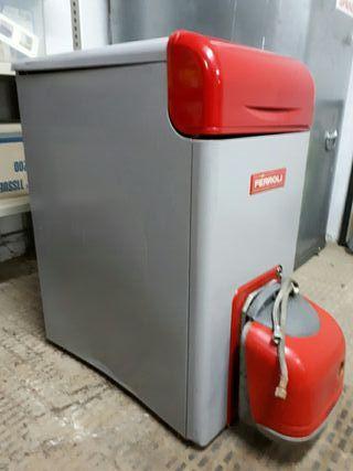 Caldera de calefacción con quemador