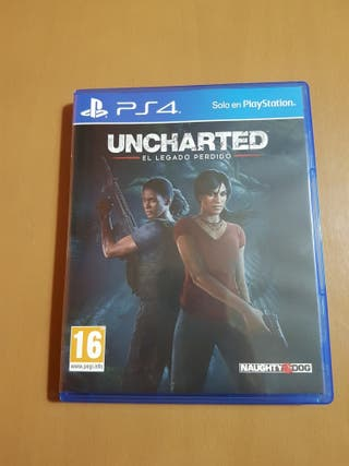 juego uncharted ps 4