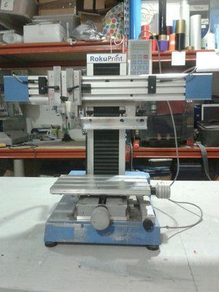 Máquina serigrafía plana automática Rokuprint