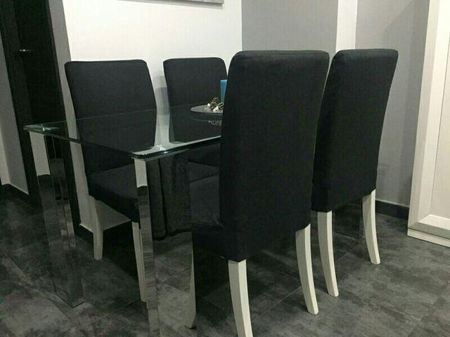 4 sillas comedor de segunda mano por 160 € en Palos de la Frontera ...