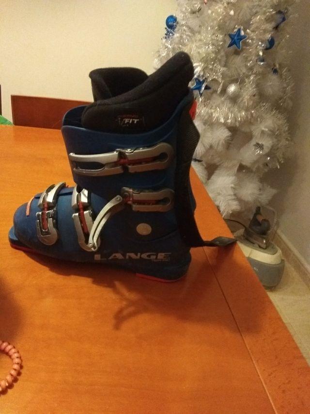 bota de esqui junior
