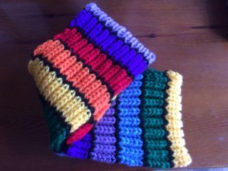 Bufandas artesanales +o- 20€
