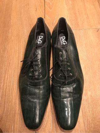 Zapatos D&G piel Anguila N-44