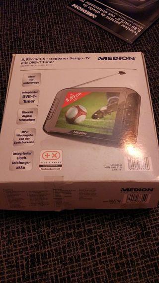 reproductor con pantalla tdt portatil.