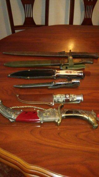 colecion de cuchillos