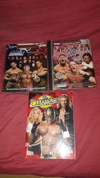 album de cromos WWE PACK DE 3