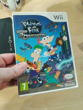 Phineas y Ferb Segunda Dimension Wii