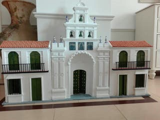 Maqueta, Ermita del Rocio. Belén Rociero