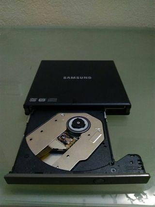 Lectora-Grabadora externa cd/dvd