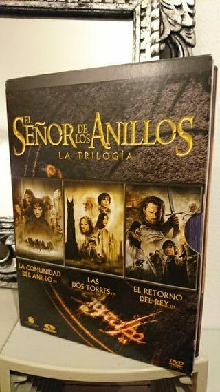 DVDs señor de los anillos trilogía