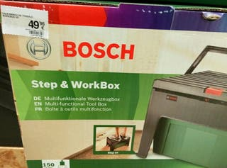 Caja-banco de herramientas Bosch