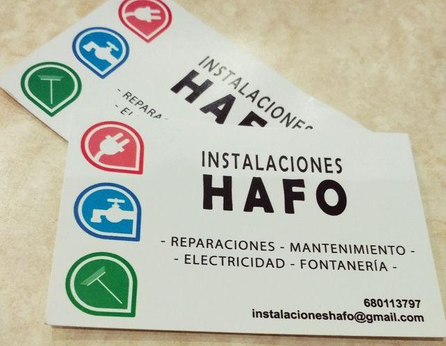 Instalación y mantenimiento eléctrico y fontanería