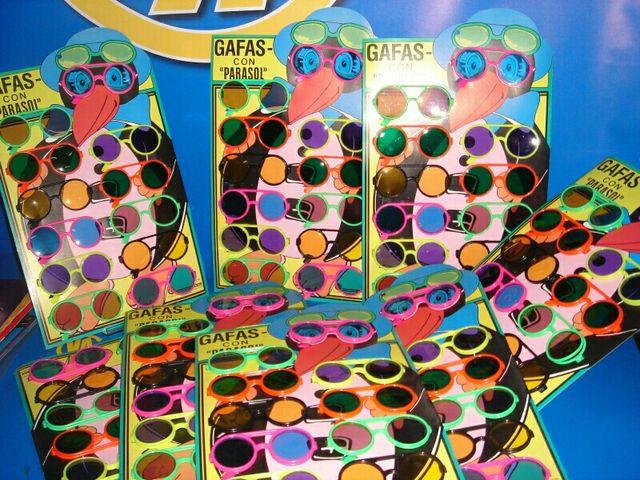 lote de 10 cajas gafas juguetes infantiles