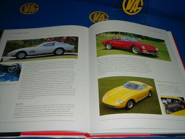 Libro la gran historia de Ferrari muy buen estado