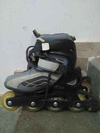 patines de linea talla 38