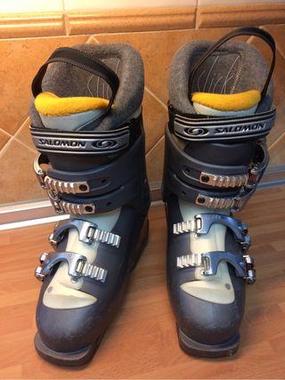 Botas de esquiar Salomon mujer