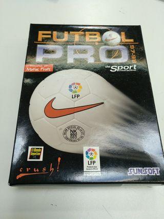 juego pc futbol pro 97/98