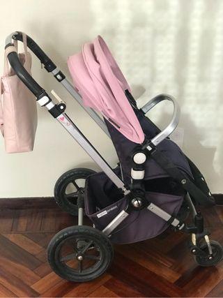 Carro , silla , coche de niño bebé bugaboo