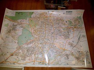 Plano grande distritos postales
