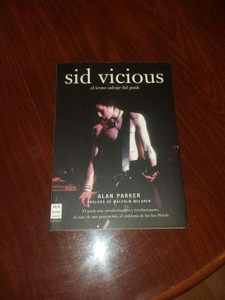 libro sid vicious sex pistols nuevo