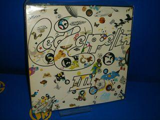 Disco vinilo LED ZEPPELIN III año 1973 edición Uk