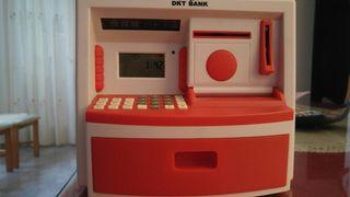 Hucha cajero electronica infantil