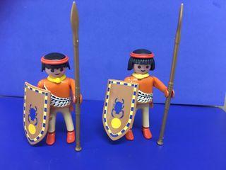 Playmobil indios - egipcios