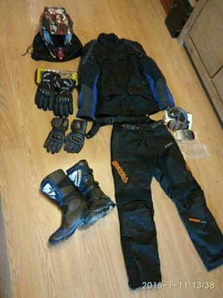 equipacion quad moto
