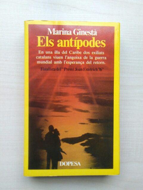 Resultado de imagen de llibres de Marina Ginestà