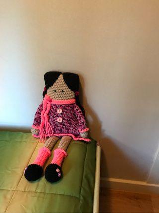 Muñeca exclusiva amigurumi