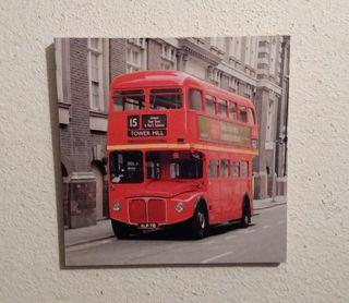 Cuadro autobus de Londres