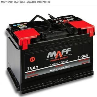 Bateria 75 ah