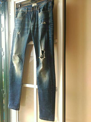 Pantalón talla 40 denim lft hombre