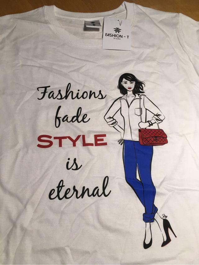 Fashion T By Maria Camiseta