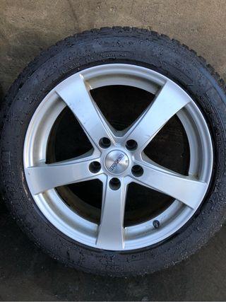 Llantas de 17 con neumáticos