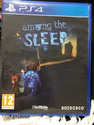 Juego play4 among the sleep