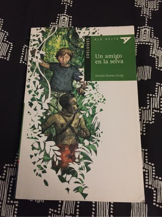 Libro un amigo en la selva