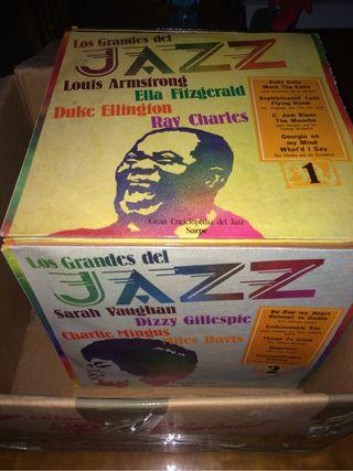 Coleccion discos de Jazz