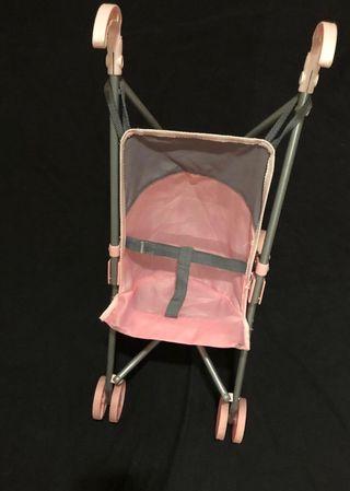 Silla juguete rosa plegable