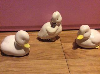 Patos porcelana
