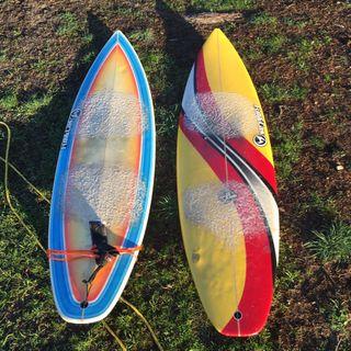 Tabla de surf Full&Cas Boxer 6,4-19 3/4-2 5/8