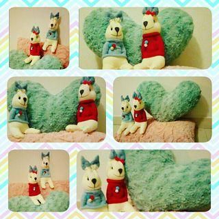 Muñecos hechos a mano
