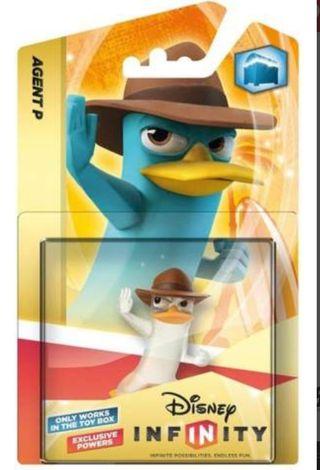Figura Disney Infinity - Agente Perry de Cristal