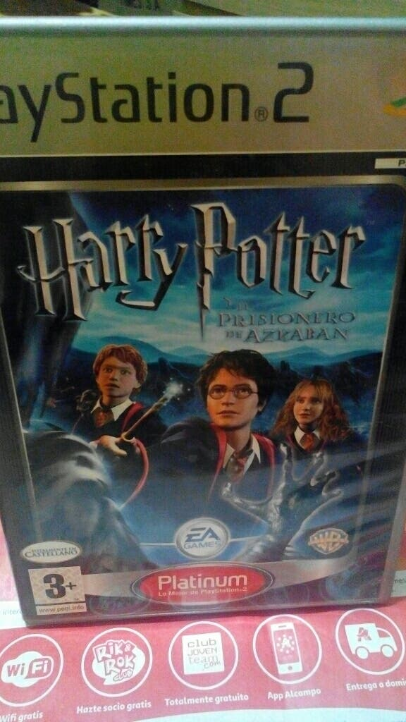 Juego Ps2 Harry Potter El Prisionero De Azcaban De Segunda Mano Por