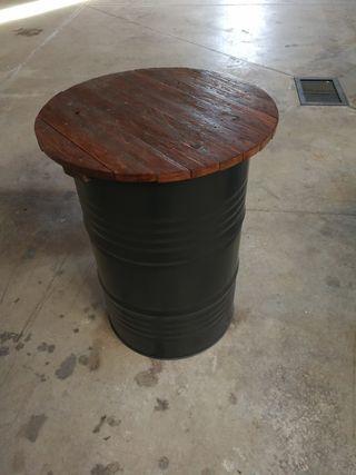 mesa tipo industrial
