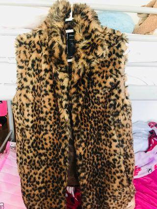 Chaleco berska S leopardo