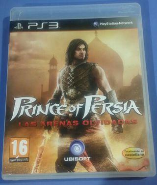Prince of persia Las arenas olvidadas Ps3
