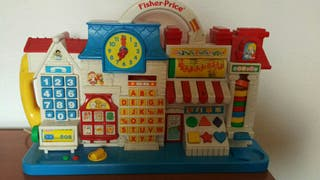 calle escuela musical fisher price